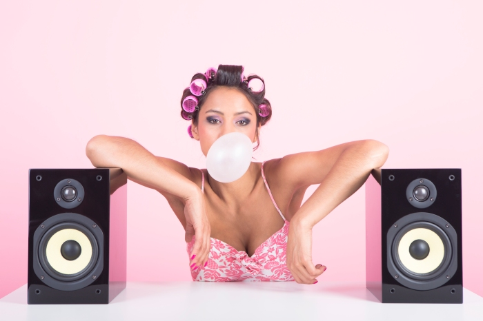 Music in pink